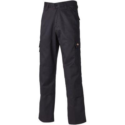 Dickies Dickies ED24/7R Black Work Trousers 30 Tall