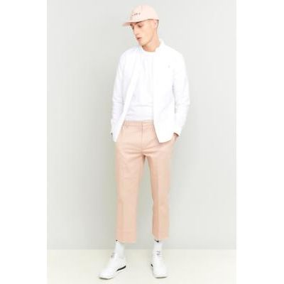Shore Leave Rory Pink Skate Raw Cut Trousers, PINK