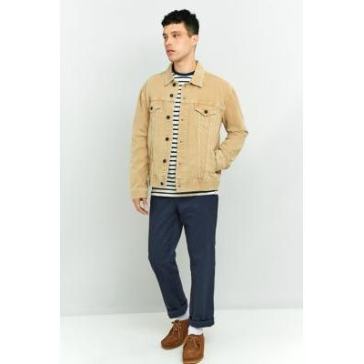 Loom Hooper Sand Denim Trucker Jacket, TAN
