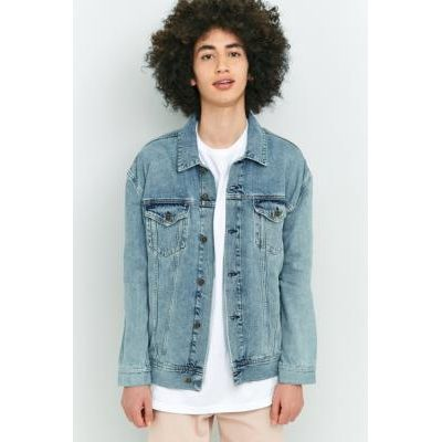 Loom Hooper Light Wash Denim Trucker Jacket, LIGHT BLUE