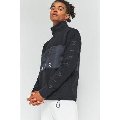 00190382242690 | Nike Sportswear Black 1 2 Zip Fleece Jacket  BLACK Store