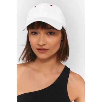 Corduroy Baseball Hat, WHITE