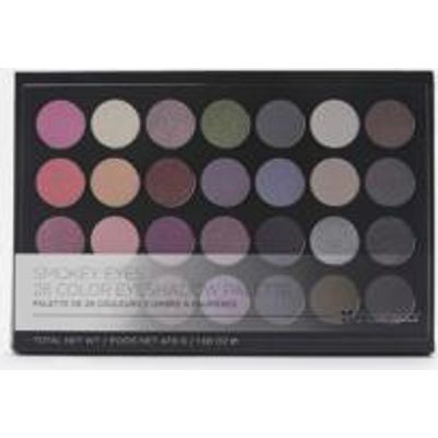 bh cosmetics 28-Colour Smoky Eye Shadow Palette, BLACK