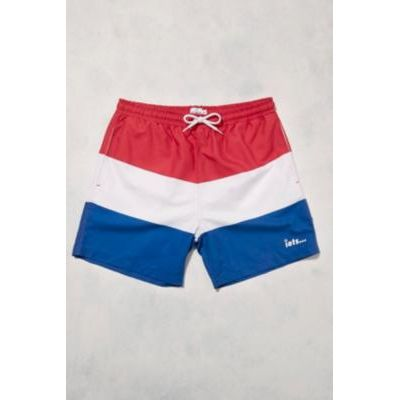iets frans… Red, White and Blue Swim Shorts, ASSORTED