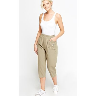 3/4 Slim Fit Trousers