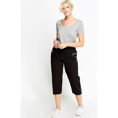 Elasticated 3/4 Slim fit Trousers