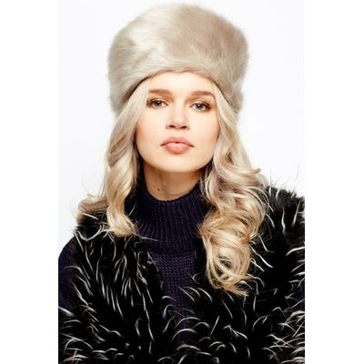 Faux Fur Round Hat
