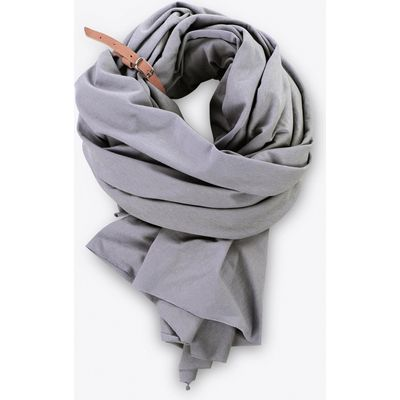 Large Scarf In Graphite