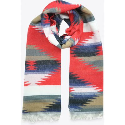 Scarf in Red & Blue