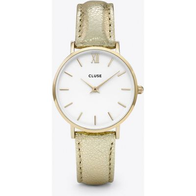 Minuit Watch in Gold & Gold Metallic