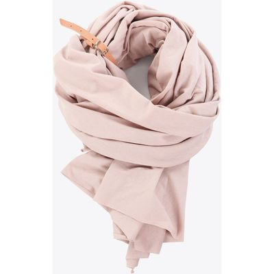 Large Scarf In Rose