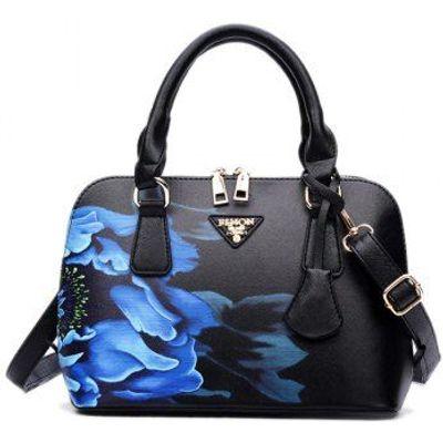 Wintersweet Printed Handbag