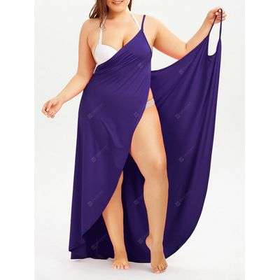 Plus Size Beach Wrap Cover Up Dress