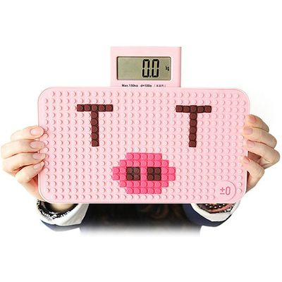 YESHM YHB1305 DIY Puzzle Shape Body Fat Scales