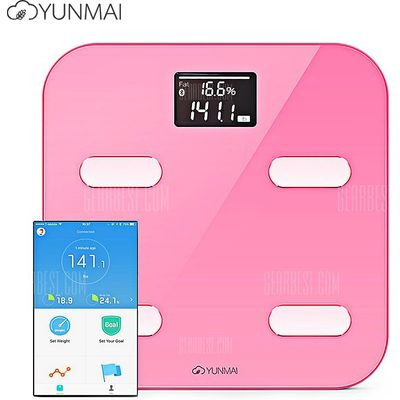 YUNMAI M1302 Bluetooth Smart Weighing Scale
