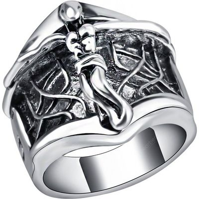 Angel Wings Design Retro Ring