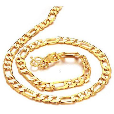 Chic Link Gold Necklace For Men