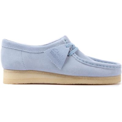 Blue Clarks Originals 26122745 Wallabee  Pastel Blue
