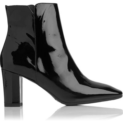 Robbie Black Patent Ankle Boots