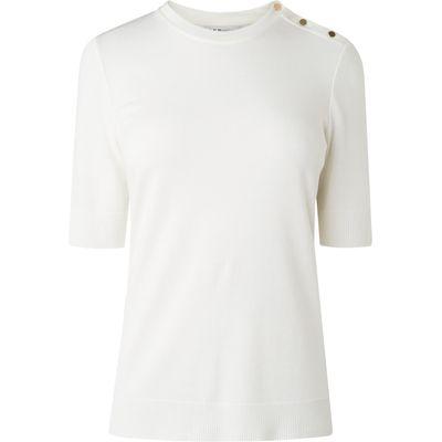 Andie Cream Cotton Top