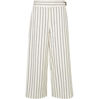 Jen White Mix Cotton Trouser