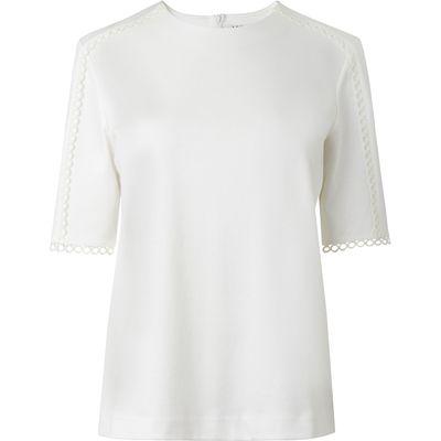 Lana Cream Cotton Top
