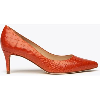 Loren Red Suede Courts