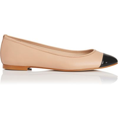Suzanne Trench Leather Flats