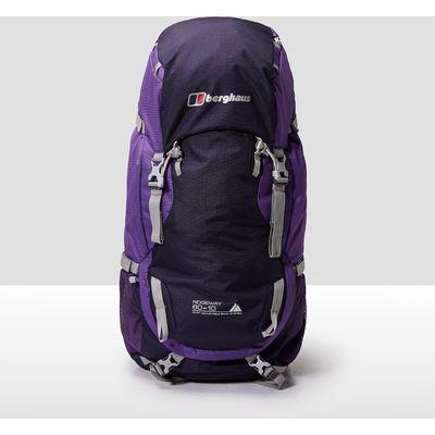 Men's Berghaus Ridgeway 60+10 Backpack - PUR/PUR, PUR/PUR