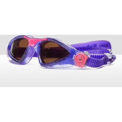 Women's Aqua Sphere Kayenne Polarised Goggles - Violet/Violet, Violet/Violet