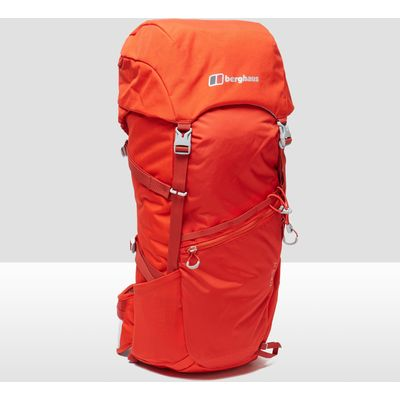Men's Berghaus Remote 35 Rucksack - RED/RED, RED/RED