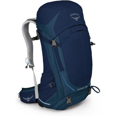 Men's Osprey Stratos 36 Backpack - Blue/Blue, Blue/Blue