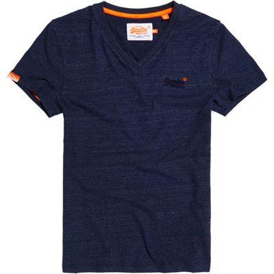 Superdry Vintage Embroidered V-neck T-shirt