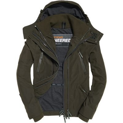 Superdry Microfibre Hooded Wind Attacker