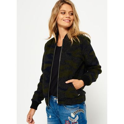 Superdry Evie Wool Bomber