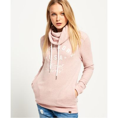 Superdry Applique Funnel Hoodie