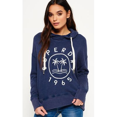 Superdry Applique Slouch Hoodie