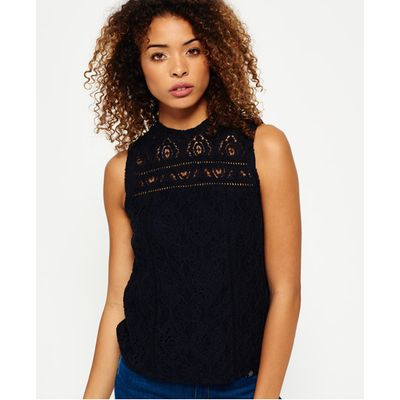 Superdry Toni Lacy Top