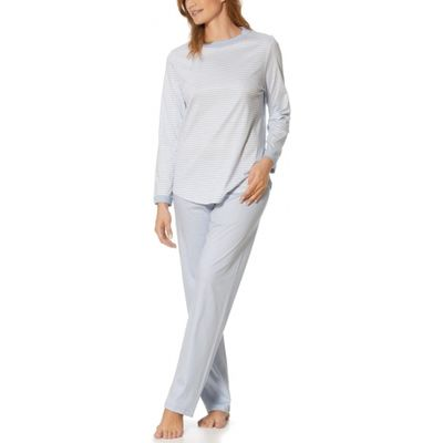 Lucia Long Sleeve Full Length Cotton Pyjama Set