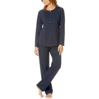 Chloe Long Sleeve Full Length Jersey Pyjama Set