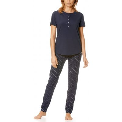 Chloe Short Sleeve Ankle Length Jersey Pyjama Set