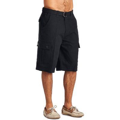 OTB Brand Cargo Shorts (40, Black)