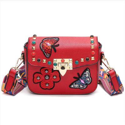 Flowers messenger bags for women Women Handbag Luxury Handbags Crossbody Leather