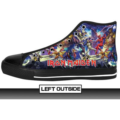 Iron Maiden (Devil) Rock Band Shoes
