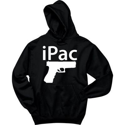 iPac Pistol Funny Gun Rights Shirt Hoodie