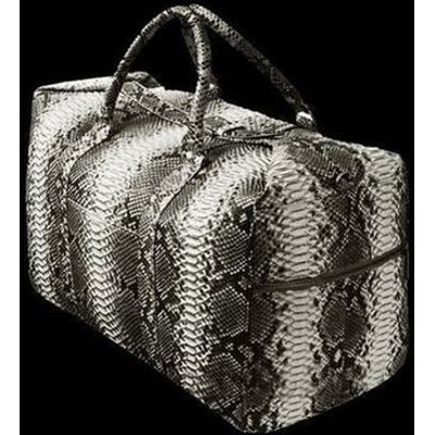 Handmade Python HandBag Genuine full Leather Snake Skin Tote Bag Purse snakeskin