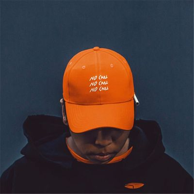 C2H4 LA 16FW NO CHILL Baseball Cap Men Fashion Orange Color Snapback Caps Hip ho