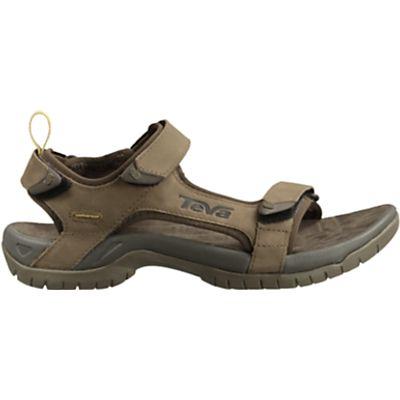 Teva Men's Tanza Leather Sandals, Brown