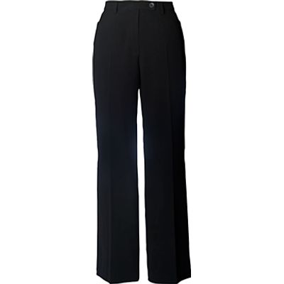 Chesca Zip Pocket Trousers, Black
