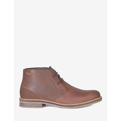 885798769885   Barbour Redhead Leather Chukka Boots  Dark Tan Store